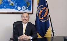 神田外語大学の宮内孝久学長。三菱商事時代には、サウジアラビアやメキシコに駐在した経験を持つ