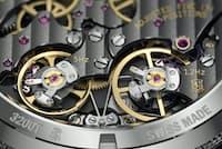 ツインビート・システムの鍵を握るモード・セレクター。二択原理を採用、一度に動くのは一方のテンプに限られる。2つのテンプの切り替えが瞬時に行われ、移行中に遅延が生じないようになっている