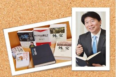 伊原木隆太氏と座右の書・愛読書
