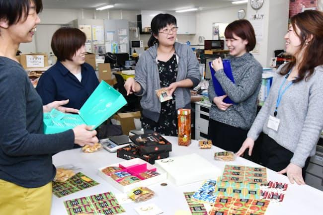 三州製菓は一人三役で急な病欠をカバーしあう(埼玉県春日部市)