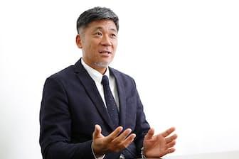 ベンチャーバンクの佐伯信行社長兼CEO