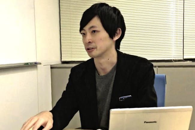 シルバーエッグ・テクノロジーの宍戸広輝さん