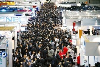 東京ビッグサイトは五輪前後の来年5~9月は使用できない。