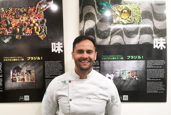 ブラジルで国民的人気を誇るパテイシエのディエゴ・ロザーノ氏