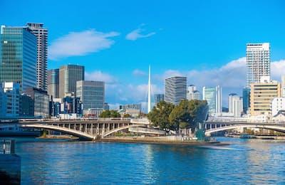 水都大阪のシンボル中之島。水上バスからもその姿が眺められる(写真はイメージ=PIXTA)