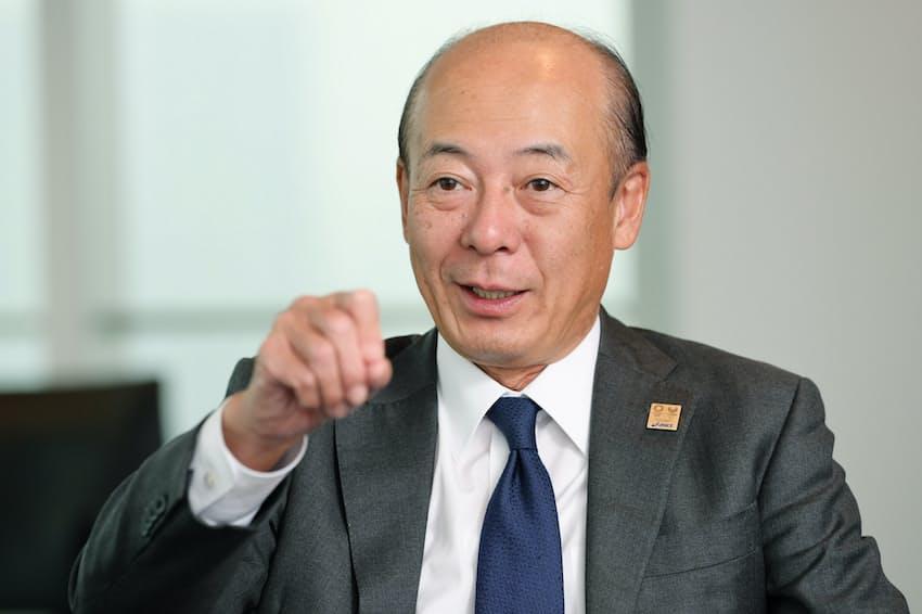 広田康人・アシックス社長COO