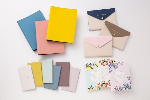 春の手帳は彩り鮮やかな表紙カラーも魅力