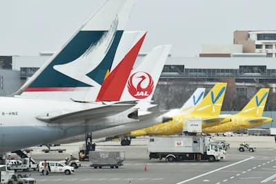 燃油サーチャージが基準にするのは石油精製品の一種で、航空機燃料となるケロシンの価格(成田空港)