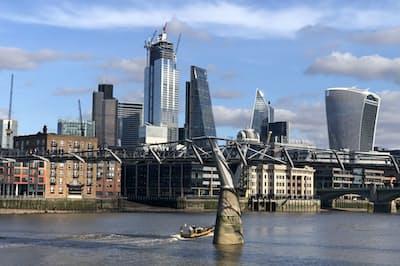 欧州の投資家が日本株市場に戻ってくる前提はそろいつつある(ロンドンの金融街シティー)