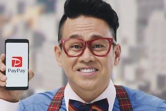 2月度に票を伸ばしたPayPayの新CM「拡がるペイペイ(利用者)」編