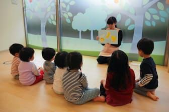 損害保険ジャパン日本興亜が本社ビル内に開設した「SOMPO KIDS PARK」(東京・新宿)