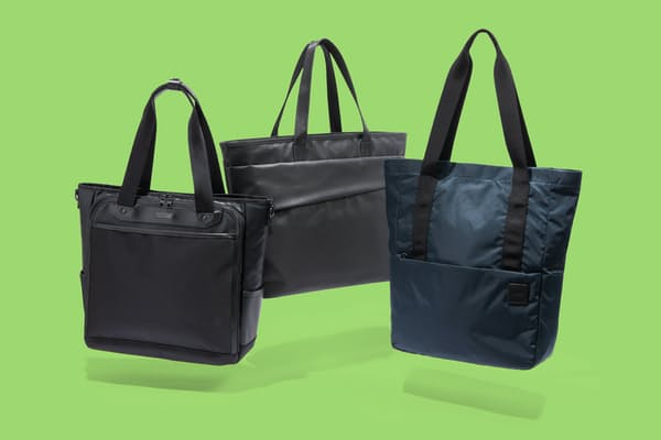 ビジネスに使いやすい工夫を凝らしたトートバッグを紹介する