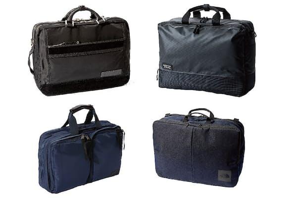 各ブランドが最も力を入れているのが3WAYのバッグだ