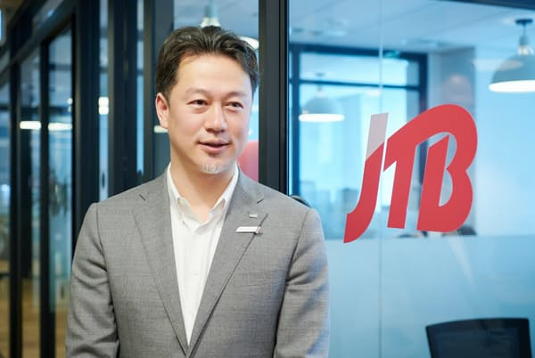 JTB Web販売部戦略担当部長の福田晃仁氏