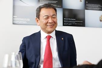 ポルシェジャパン代表取締役社長の七五三木敏幸さん