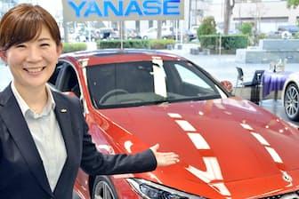 ヤナセの高津絵美さん