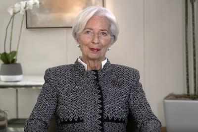 IMFラガルド専務理事 (c)IMF、日経xwoman編集