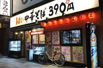 日高屋の埼玉県内の店舗