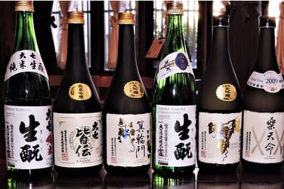 大七酒造の酒はすべて「生酛づくり」。時間をかけて造り熟成させて世に出す