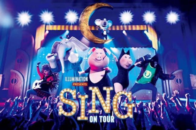 4月18日にグランド・オープンする新時代リアル・ミュージカル・アトラクション「シング・オン・ツアー」= ユー・エス・ジェイ提供