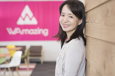 WAmazing代表取締役社長CEOの加藤史子さん