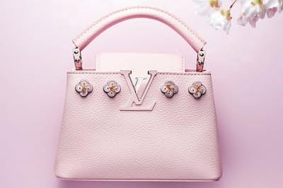 ブルガリやルイ・ヴィトンなど、一流ブランドによるスペシャルな桜アイテムが勢ぞろい。(NikkeiLUXEより)