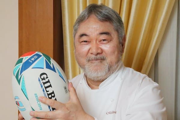 洋食料理家 三国清三さん