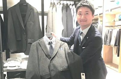 ユナイテッドアローズの徳山優汰さん