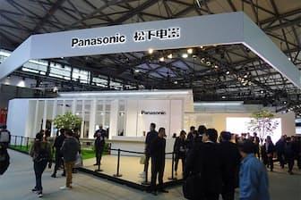 中国・上海で開催されたアジア最大規模の家電博「AWE 2019」に出展したパナソニックのブース