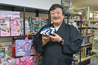 タカラトミーの富山幹太郎会長