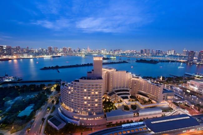 ジャパン・ホテル・リート投資法人は4月、ヒルトン東京お台場(東京・港)を取得した
