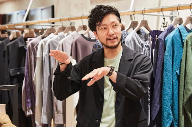 EDIFICE LA BOUCLE NEWoMan新宿店 石井脩嗣さん