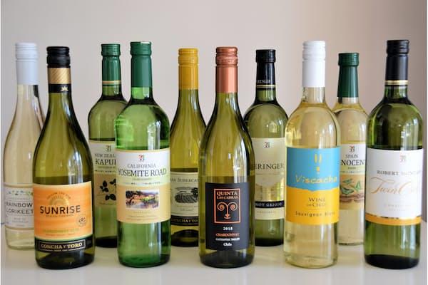 大手コンビニで購入した1000円未満の白ワイン
