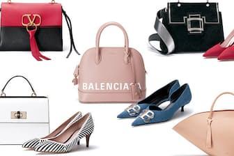 各ブランドの個性や魅力が存分に発揮された、靴とバッグが勢揃い!(NikkeiLUXEより)