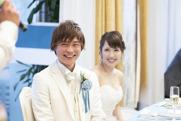 結婚披露宴でのスピーチは言葉選びにデリケートな気遣いが求められる。 写真はイメージ =PIXTA