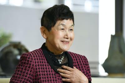 昭和女子大学の坂東真理子理事長兼総長