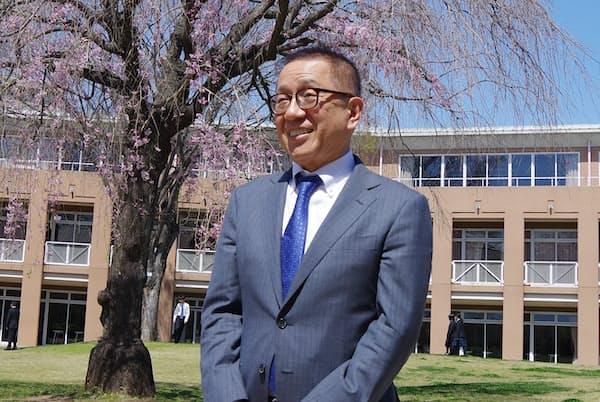 三田国際学園の大橋清貫学園長