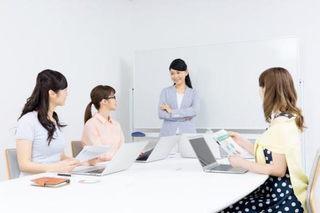 「女性が活躍する会社」総合首位は花王、2位りそなとなった。(写真はイメージ=PIXTA)
