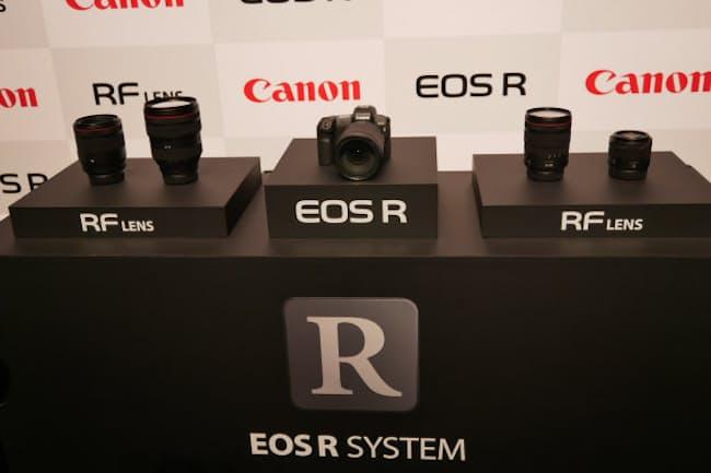 キヤノンは2018年、フルサイズのミラーレス機EOS Rを発表。ミラーレス機に本格的に力を入れ始めた