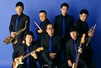 ハードボイルドなイメージを支える大野雄二(写真中央)率いるルパンティック・シックス