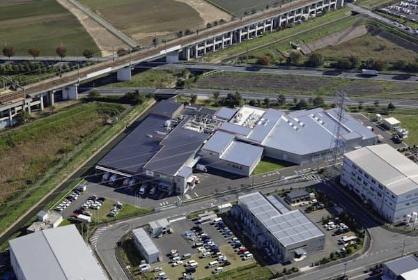 行田工場を拡充、600店体制に備える(埼玉県行田市)