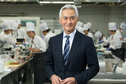 辻調理師専門学校校長 辻芳樹氏