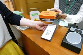 QRコード決済で支払いできる店舗が急速に増えつつある