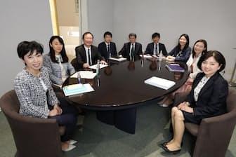 役員の半数を女性が占めるシーボン(川崎市)