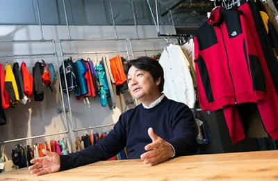 30年以上ザ・ノース・フェイスに関わってきたゴールドウインの渡辺貴生副社長