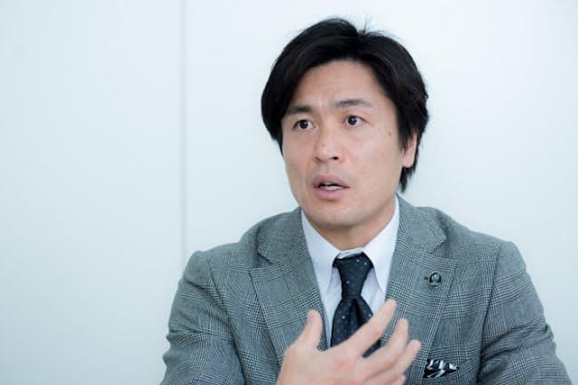 元ラグビー日本代表で、ラグビーワールドカップ2019日本大会アンバサダーを務める大畑大介さん(写真 厚地健太郎)