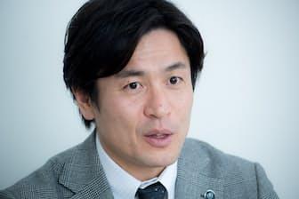 加点法の考え方になってストレスがたまらなくなったと話す大畑大介さん(写真 厚地健太郎)