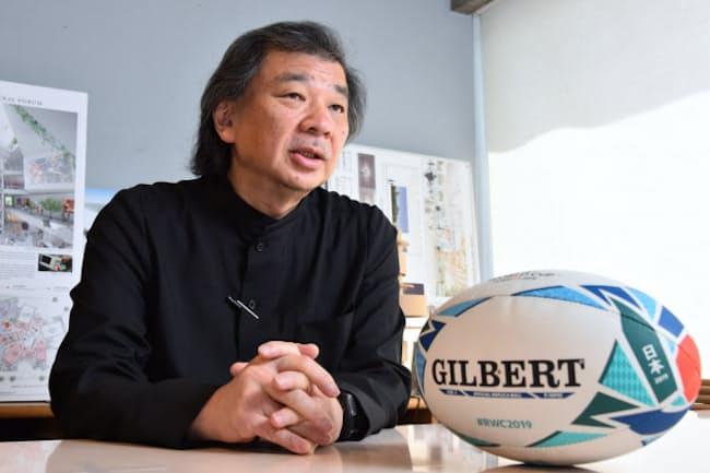 建築家の坂茂さんは小中高時代「ラグビーのとりこ」だった(東京・世田谷)