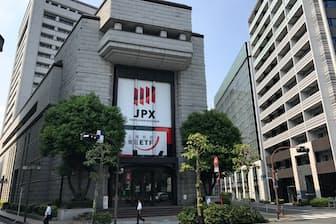 東証には全体で約3700社が上場している(日本橋兜町の東京証券取引所)