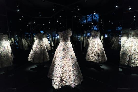 ミス ディオールのドレス(1949年春夏オートクチュールコレクション)
